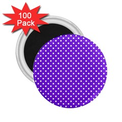 Polka Dots 2 25  Magnets (100 Pack)  by Valentinaart
