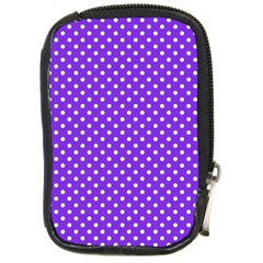Polka dots Compact Camera Cases by Valentinaart
