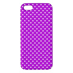 Polka Dots Iphone 5s/ Se Premium Hardshell Case by Valentinaart