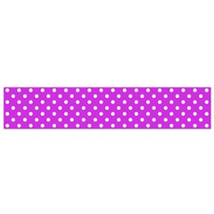 Polka Dots Flano Scarf (small) by Valentinaart
