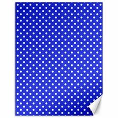 Polka Dots Canvas 12  X 16   by Valentinaart