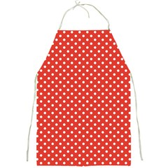 Polka Dots Full Print Aprons by Valentinaart