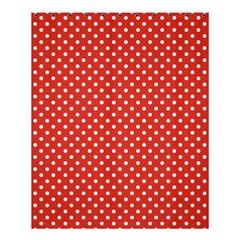 Polka Dots Shower Curtain 60  X 72  (medium)  by Valentinaart