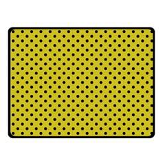 Polka Dots Fleece Blanket (small) by Valentinaart