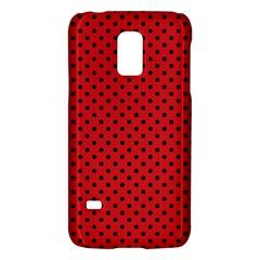 Polka Dots Galaxy S5 Mini by Valentinaart