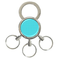 Polka Dots 3 Ring Key Chains by Valentinaart