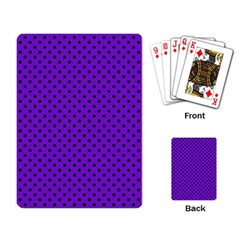 Polka Dots Playing Card by Valentinaart