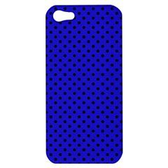 Polka Dots Apple Iphone 5 Hardshell Case by Valentinaart