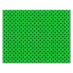 Polka Dots Rectangular Jigsaw Puzzl by Valentinaart