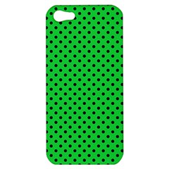 Polka Dots Apple Iphone 5 Hardshell Case by Valentinaart