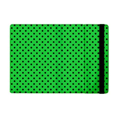 Polka Dots Apple Ipad Mini Flip Case by Valentinaart