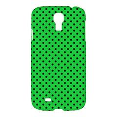 Polka Dots Samsung Galaxy S4 I9500/i9505 Hardshell Case by Valentinaart