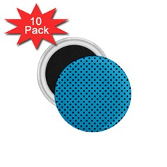 Polka Dots 1 75  Magnets (10 Pack)  by Valentinaart