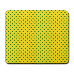 Polka Dots Large Mousepads by Valentinaart