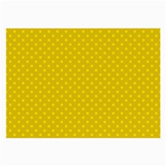 Polka Dots Large Glasses Cloth (2 Side) by Valentinaart