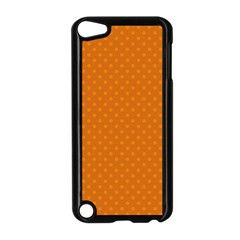Polka Dots Apple Ipod Touch 5 Case (black) by Valentinaart