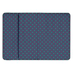 Polka Dots Samsung Galaxy Tab 8 9  P7300 Flip Case by Valentinaart