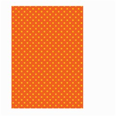 Polka Dots Large Garden Flag (two Sides) by Valentinaart