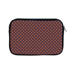 Polka Dots Apple Ipad Mini Zipper Cases by Valentinaart
