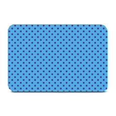 Polka Dots Plate Mats by Valentinaart