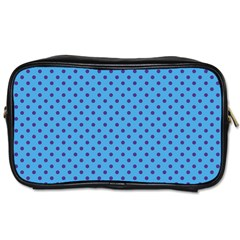 Polka Dots Toiletries Bags by Valentinaart