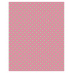 Polka Dots Drawstring Bag (small) by Valentinaart