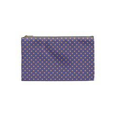 Polka Dots Cosmetic Bag (small)  by Valentinaart