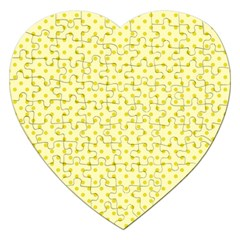 Polka Dots Jigsaw Puzzle (heart) by Valentinaart