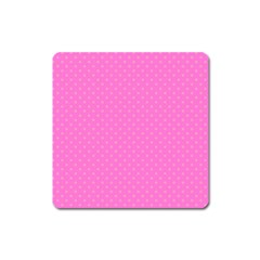 Polka Dots Square Magnet by Valentinaart