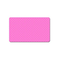 Polka Dots Magnet (name Card) by Valentinaart