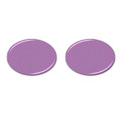 Polka Dots Cufflinks (oval) by Valentinaart