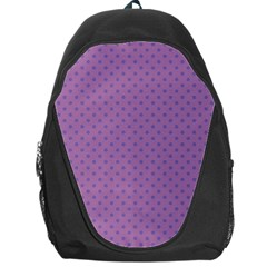 Polka Dots Backpack Bag by Valentinaart