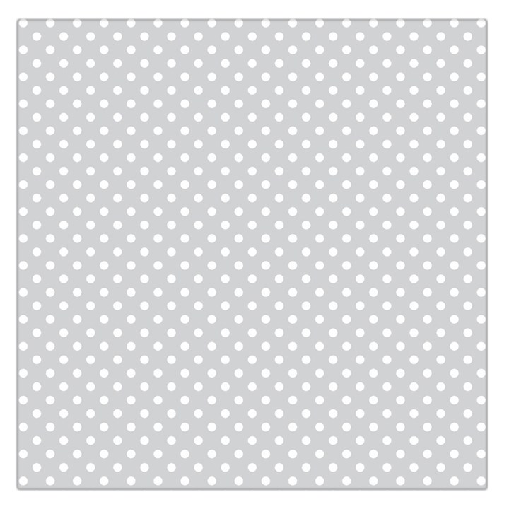 Polka dots Large Satin Scarf (Square)