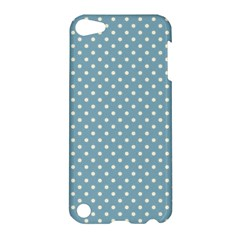 Polka Dots Apple Ipod Touch 5 Hardshell Case by Valentinaart