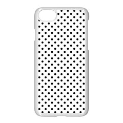 Polka Dots Apple Iphone 7 Seamless Case (white) by Valentinaart