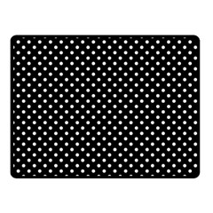 Polka Dots Double Sided Fleece Blanket (small)