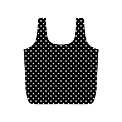 Polka Dots Full Print Recycle Bags (s)  by Valentinaart