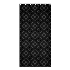 Polka Dots Shower Curtain 36  X 72  (stall)  by Valentinaart