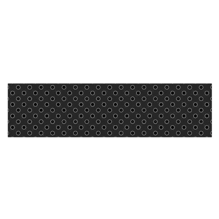 Polka dots Satin Scarf (Oblong)