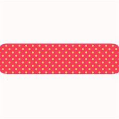 Polka Dots Large Bar Mats by Valentinaart