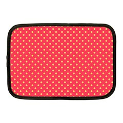 Polka Dots Netbook Case (medium)  by Valentinaart