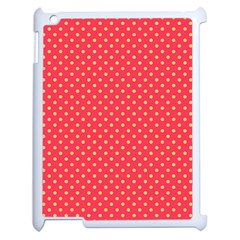 Polka Dots Apple Ipad 2 Case (white) by Valentinaart