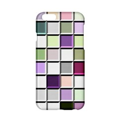 Color Tiles Abstract Mosaic Background Apple Iphone 6/6s Hardshell Case by Simbadda