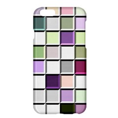 Color Tiles Abstract Mosaic Background Apple Iphone 6 Plus/6s Plus Hardshell Case by Simbadda