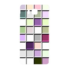 Color Tiles Abstract Mosaic Background Samsung Galaxy Alpha Hardshell Back Case by Simbadda