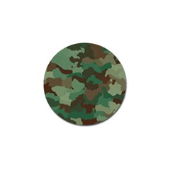 Camouflage Pattern A Completely Seamless Tile Able Background Design Golf Ball Marker (10 Pack) by Simbadda