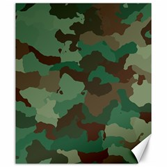 Camouflage Pattern A Completely Seamless Tile Able Background Design Canvas 20  X 24   by Simbadda