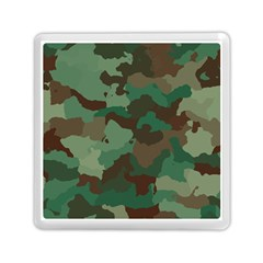 Camouflage Pattern A Completely Seamless Tile Able Background Design Memory Card Reader (square)  by Simbadda