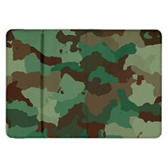 Camouflage Pattern A Completely Seamless Tile Able Background Design Samsung Galaxy Tab 8 9  P7300 Flip Case by Simbadda