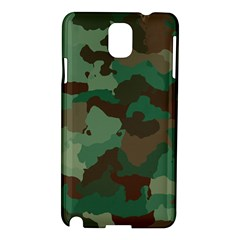 Camouflage Pattern A Completely Seamless Tile Able Background Design Samsung Galaxy Note 3 N9005 Hardshell Case